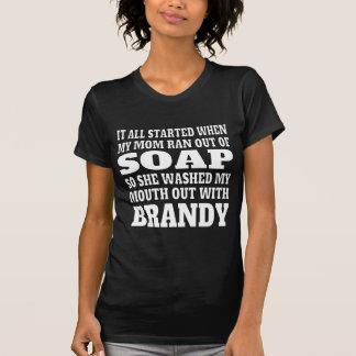 Der Weinbrand-Trinken der Frauen T-Shirt