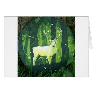 Der weiße Hirsch Karte