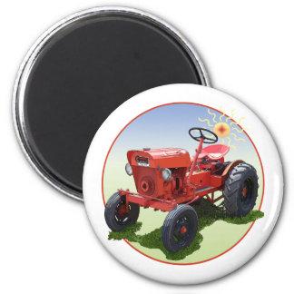 Der Wirtschafts-Traktor Kühlschrankmagnet
