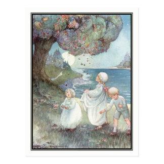 Der Zuckerpflaumen-Baum durch Anne Anderson Postkarte