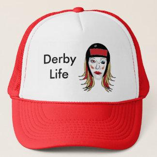 Derby-Leben-Fernlastfahrerhut Truckerkappe