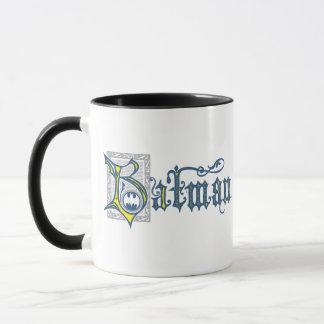 Des Batman-| städtisches gelbes Logo Legenden-der Tasse