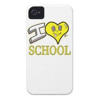 des Gelb-Schulbusses der Liebe I Schulausgabe iPhone 4 Hüllen