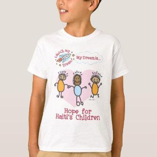 """Des Haitis des Thalias """"Hoffnung für Kinder"""" Shirt"""