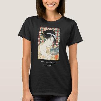Des Insekten-Käfigs Kitagawa Utamaro japanische T-Shirt