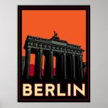 des oktoberfest retro Reise Kunst-Dekos Berlins De Poster