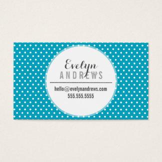 Des polkapunktes der TRENDY EINFACHEN STELLE Visitenkarten