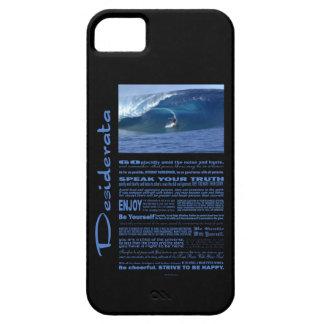Desiderata-Gedicht, das in Hawaii surft Etui Fürs iPhone 5