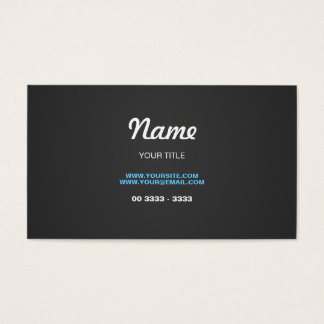 Design Stylish and Contemporary Visitenkarte