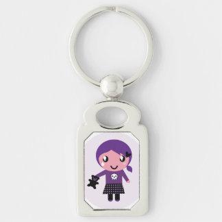 Designer Keychain mit wenigem niedlichem Emo Schlüsselanhänger