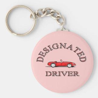 Designierter Fahrer keychain Standard Runder Schlüsselanhänger