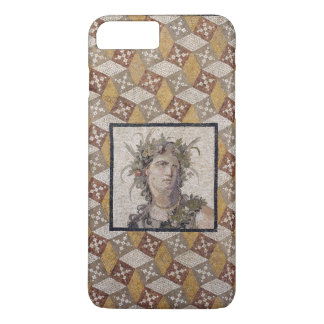 Detail einer römischen Mosaikfußboden-Platte - iPhone 7 Plus Hülle