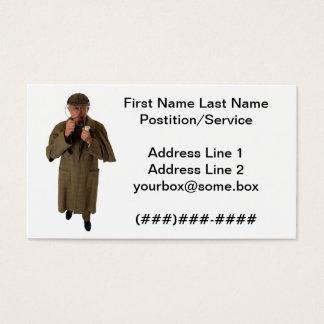 Detektiv Visitenkarte