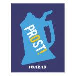 Deutsche Bierstein-Party Einladungen - Bier-Probie