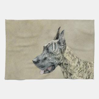 Deutsche Dogge (Brindle) Handtuch