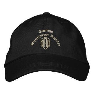 Deutsche Drahthaar-Zeiger-Vati-Geschenke Bestickte Kappe