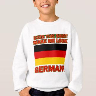 Deutsche Shirtentwürfe Sweatshirt