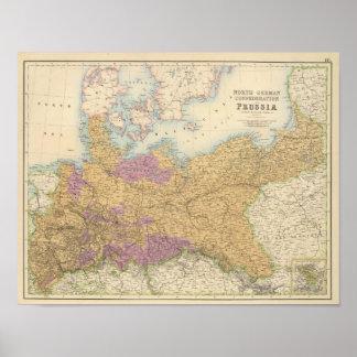 Deutsches Nordbündnis und Preußen Poster