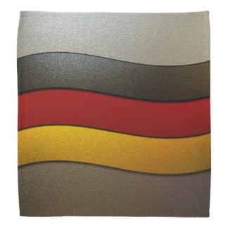 Deutschland-Flagge Farbe-Chrom Halstuch