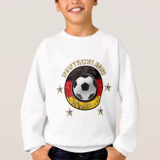 Deutschland Fussball Flagge Vier Sterne Sweatshirt