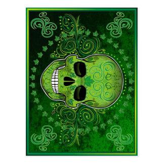dia de Los Muertos Postkarte