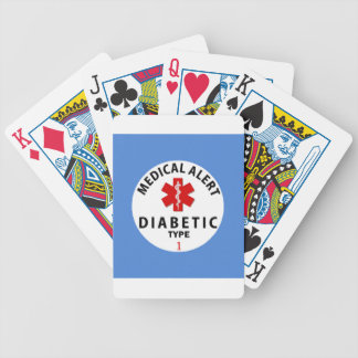 DIABETES-TYP 1 POKER KARTEN