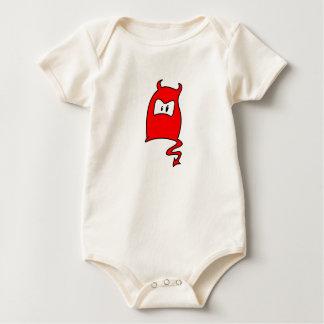 diablito baby strampler