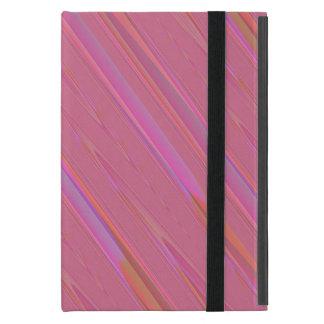 Diagonales rosa abstraktes Muster Schutzhülle Fürs iPad Mini
