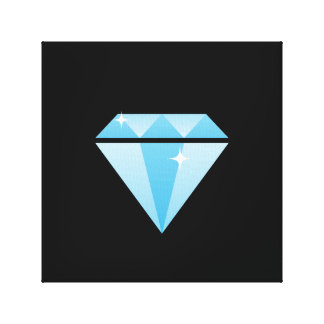 Diamant eingewickelte Leinwand