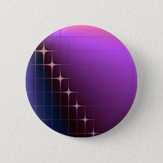 Diamant-Schnitt-Knopf Runder Button 5,7 Cm