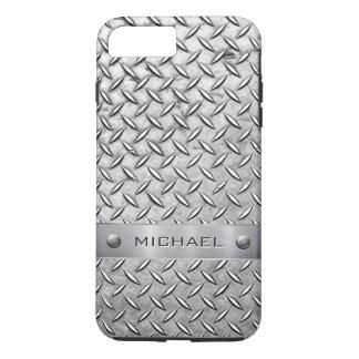 Diamant-Schnitt-Muster Metallplatten iPhone 7 Plus Hülle