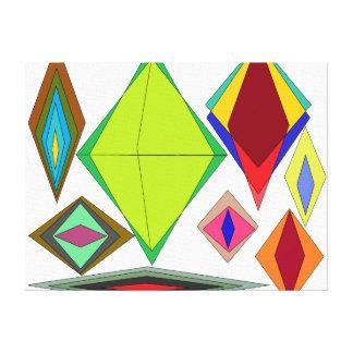 Diamanten der Illusion Leinwanddruck