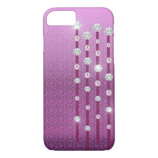Diamanten und Perlen iPhone 7 Fall iPhone 8/7 Hülle