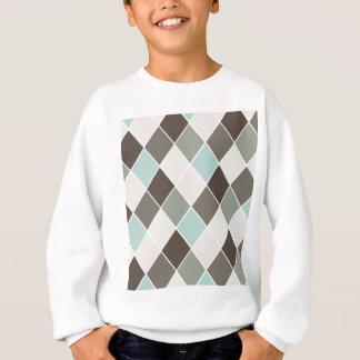 Diamantmuster Sweatshirt