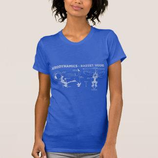Die Aerodynamik von Basset Hound T-Shirt
