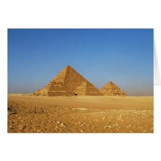 Die ägyptischen Pyramiden Karte