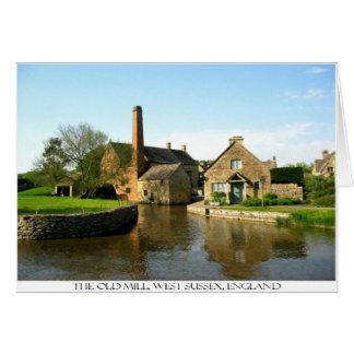 Die alte Mühle Karte