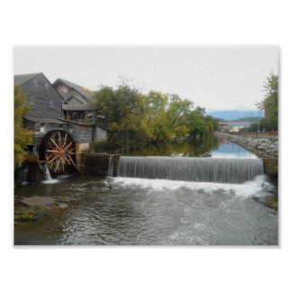 Die alte Mühle Poster