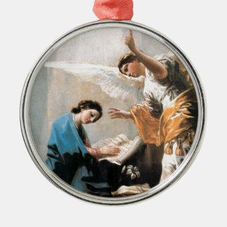 Die Ankündigung, Francisco José de Goya, schöne Silbernes Ornament