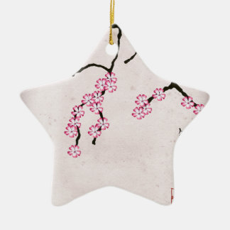 die antike Blüte 3 der tony fernandess Keramik Ornament