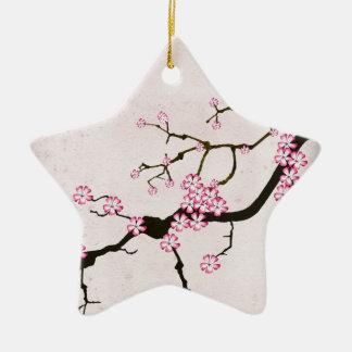 die antike Blüte 5 der tony fernandess Keramik Ornament
