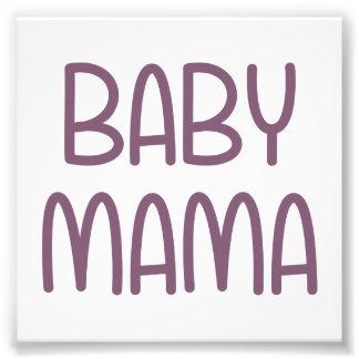 Die Baby-Mutter (d.h. Mutter) Photographie
