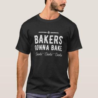 Die Bäcker, die gehen zu backen, backen backen T-Shirt