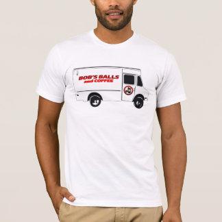 Die Bälle u. der Kaffee des Bobs durch LEBER T-Shirt