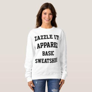 Die BASIC-SWEATSHIRT der kundenspezifischen Sweatshirt