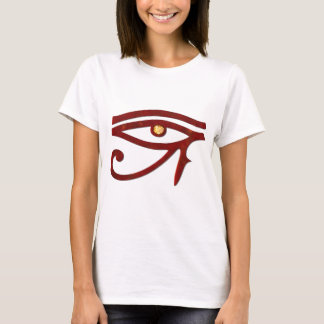 Die Beobachter ägyptisches 3D optisch T-Shirt