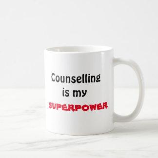 Die Beratung ist meine Supermacht-Tasse Tasse