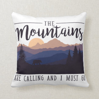 Die Berge nennen Kissen