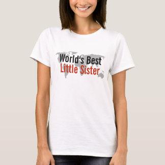 Die beste kleine Schwester der Welt T-Shirt