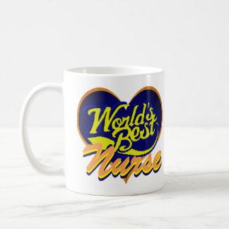 Die beste Krankenschwester der Welt Kaffeetasse